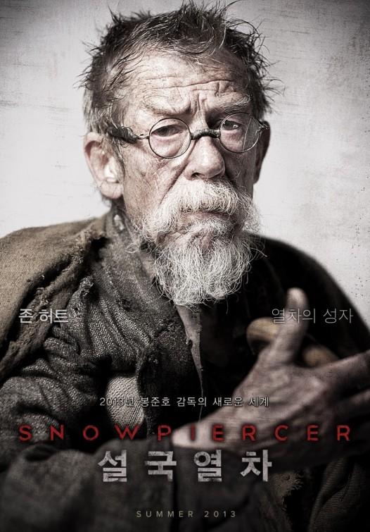 Snowpiercer (John Hurt) poster