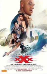 xXx: The Return of Xander Cage poster (Australia)