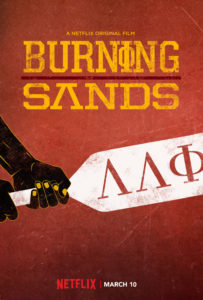 Burning Sands poster (Netflix)