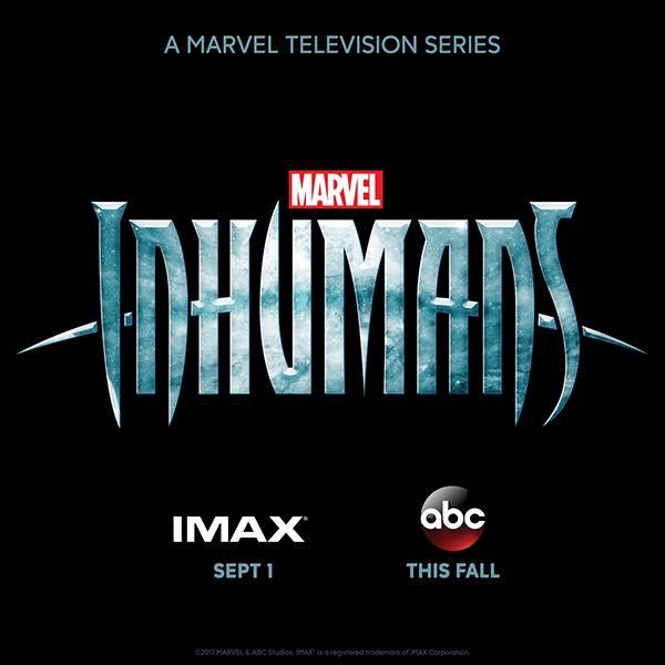 Inhumans IMAX Logo