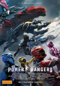 Power Rangers - Australian poster (Roadshow Films)