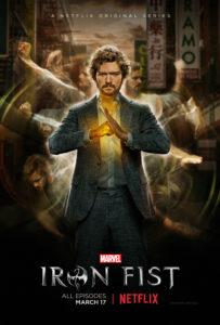 Iron Fist - Netflix poster