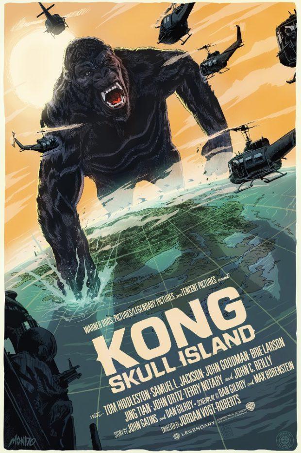 Kong: Skull Island - Designer: Francesco Francavilla