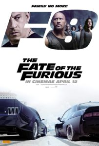 The Fate of the Furious poster (Australia - Universal)