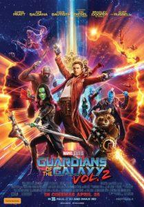 Guardians of the Galaxy Vol. 2 poster (Australia)