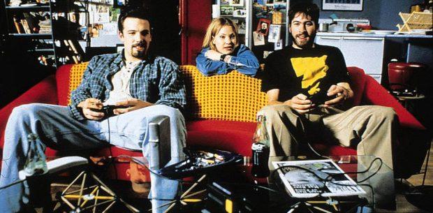 Chasing Amy - Jason Lee, Joey Lauren Adams and Ben Affleck (Copyright Miramax)
