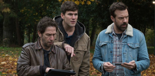 Colossal - Tim Blake Nelson, Austin Stowell and Jason Sudeikis