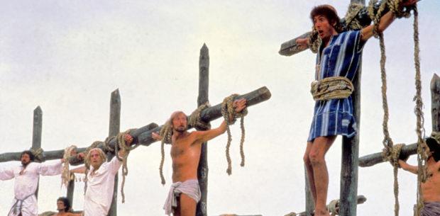 MONTY PYTHON'S LIFE OF BRIAN (UK 1979) HANDMADE FILM/PYTHON PICTURES MICHAEL PALIN, ?, TERRY JONERIC IDLE Date: 1979