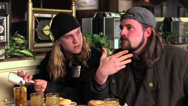 Chasing Amy - Jason Mewes and Kevin Smith (Copyright Miramax)