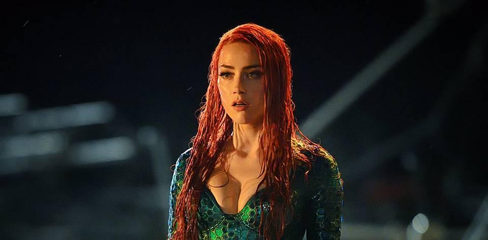 Amber Heard as Mera in Aquaman