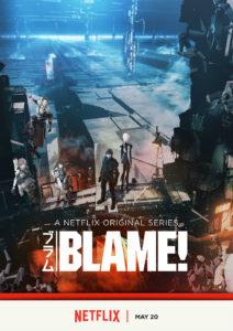 Blame! poster (Netflix)