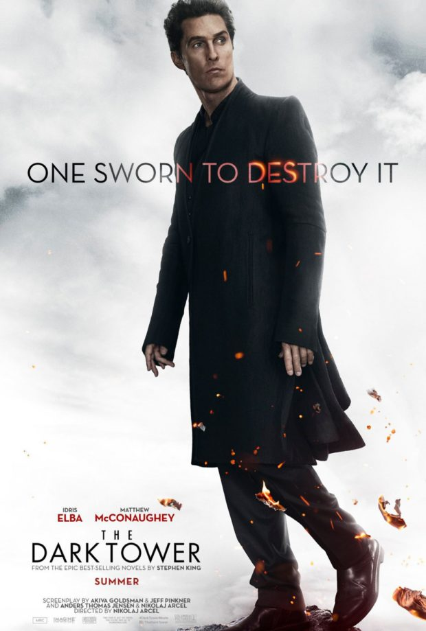 The Dark Tower - Man in Black poster