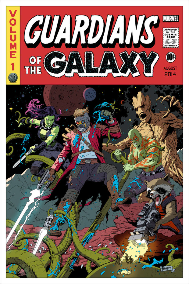 Guardians of the Galaxy - Designer: Paolo Rivera