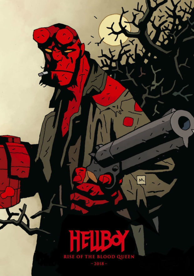 Hellboy: Rise of the Blood Queen - Designer: Mike Mignola