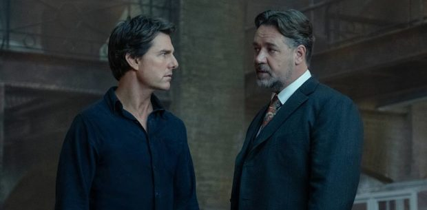 The Mummy - Tom Cruise and Russell Crowe