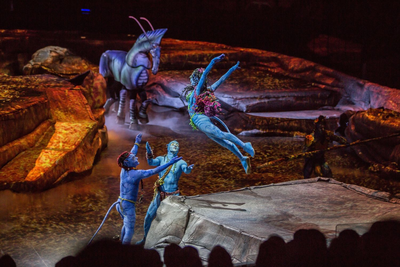 Cirque Du Soleil Touring Show Toruk Inspired By James