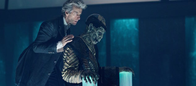 Programme Name: Doctor Who S10 - TX: 03/06/2017 - Episode: The Lie Od The Land (No. 8) - Picture Shows: The Doctor (PETER CAPALDI), Monk - (C) BBC/BBC Worldwide - Photographer: Simon Ridgway