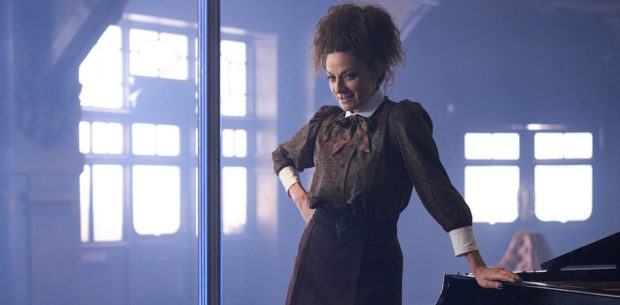Programme Name: Doctor Who S10 - TX: 03/06/2017 - Episode: The Lie Od The Land (No. 8) - Picture Shows: Missy (MICHELLE GOMEZ) - (C) BBC/BBC Worldwide - Photographer: Simon Ridgway