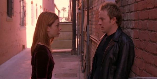 Willow and Andrew on Buffy the Vampire Slayer