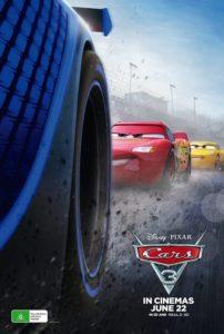 Cars 3 poster (Australia)