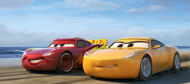 """OFF TO THE RACES—Disney•Pixar's """"Cars 3"""" is teaming up with NASCAR this year as crowd favorite Lightning McQueen (voice of Owen Wilson) prepares to return to the big screen June 16, 2017, alongside elite trainer Cruz Ramirez (voice of Cristela Alonzo). Details about the season-long collaboration, which marks the biggest between the""""Cars"""" franchise and NASCAR, were shared today (Feb. 23, 2017) in Daytona Beach, Fla., ahead of this weekend's 59thannual Daytona 500—for which Wilson will serve as grand marshal. © 2017 Disney•Pixar. All Rights Reserved."""