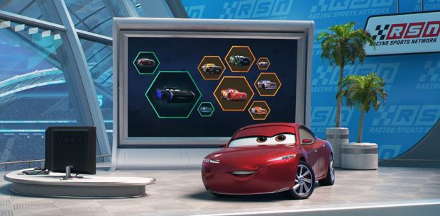 """DO THE MATH—In Disney•Pixar's""""Cars 3,""""Kerry Washington lends her voice to Natalie Certain, a highly respected statistical analyst who knows her numbers. Book-smart and mathematically gifted, Certain is a fresh voice in the racing world. While she may earn top marks in her ability to evaluate a racer's stats, she could be underestimating the importance of determination.""""Cars 3"""" opens in U.S.theaters on June 16, 2017.©2017 Disney•Pixar. All Rights Reserved."""
