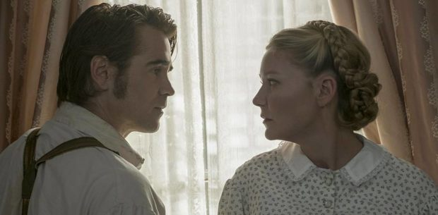 The Beguiled - Colin Farrell and Kirsten Dunst