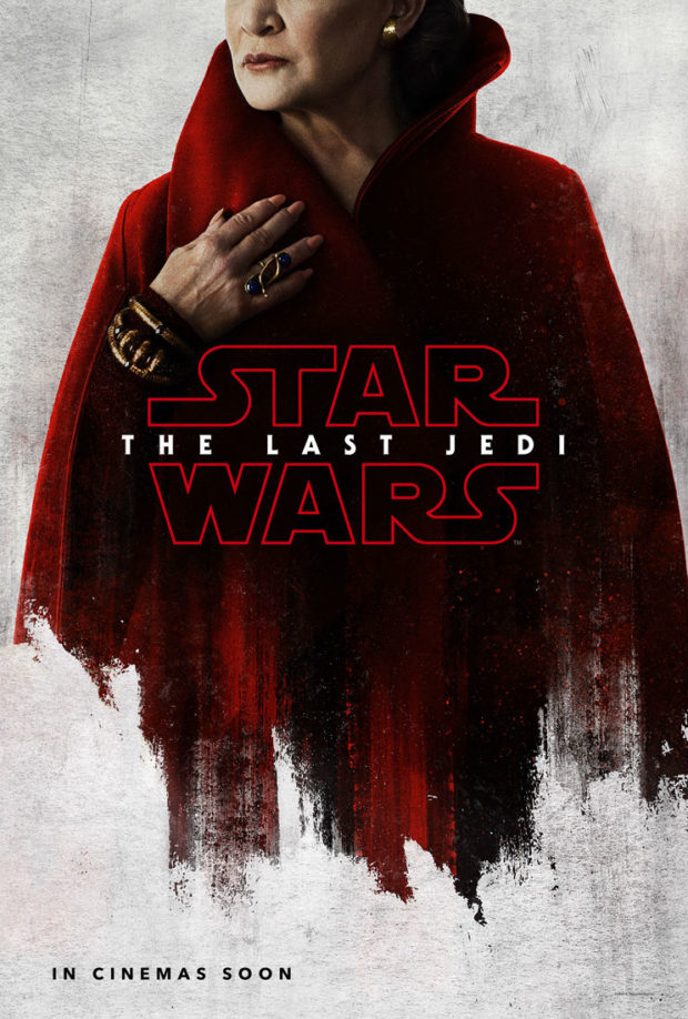 Star Wars: The Last Jedi character poster - Leia