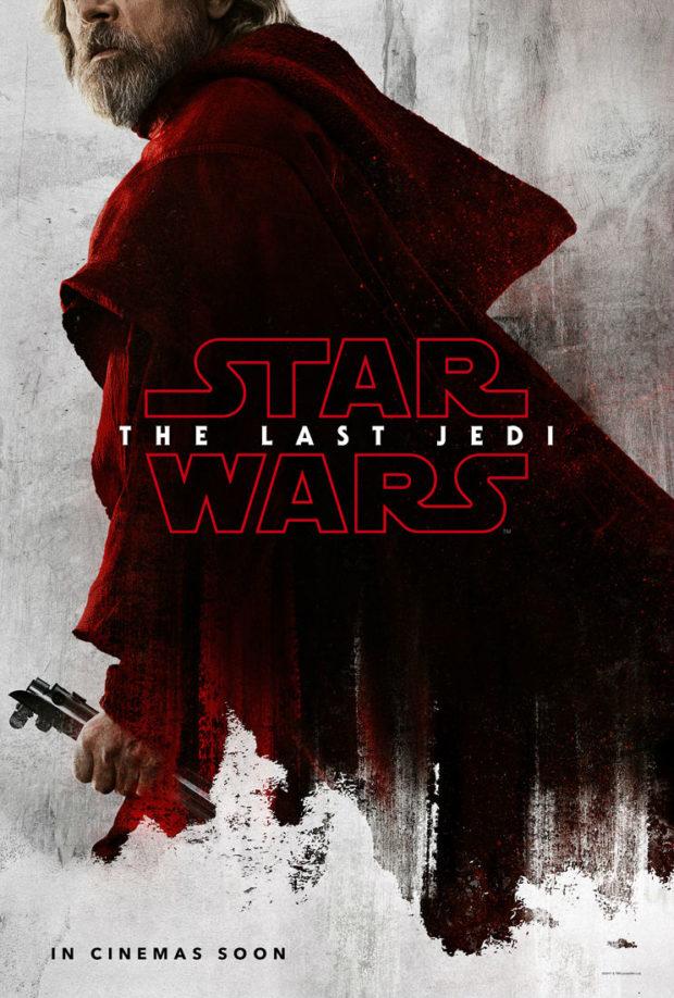 Star Wars: The Last Jedi character poster - Luke