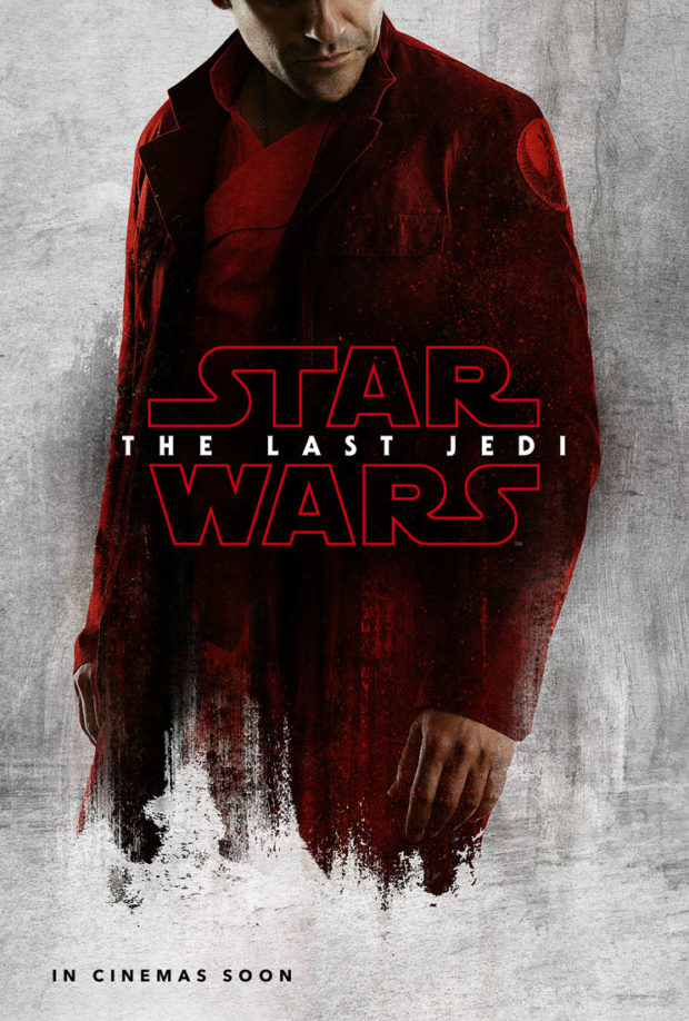 Star Wars: The Last Jedi character poster - Poe