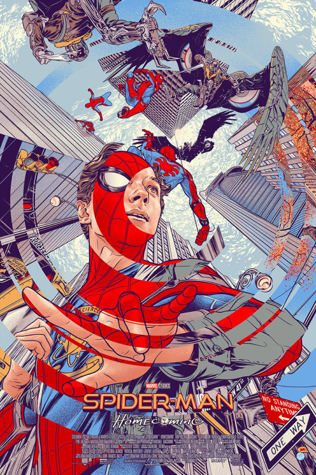 Spider-Man: Homecoming - Designer: Martin Ansin (for Mondo)