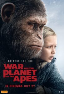 War for the Planet of the Apes - Australian poster