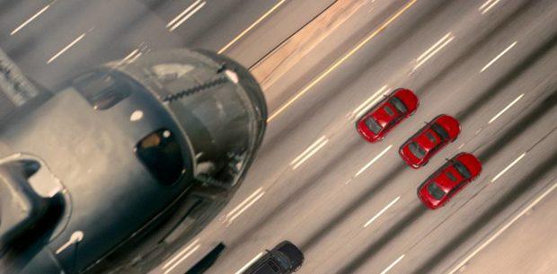 Baby Driver - Atlanta chase