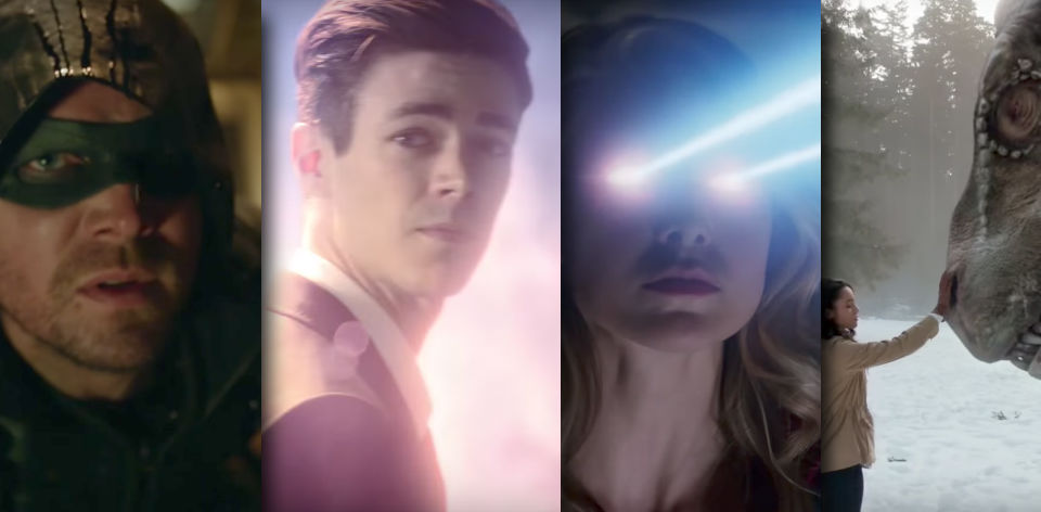 CW TV 2017 - Arrow, The Flash, Supergirl, Legends of Tomorrow