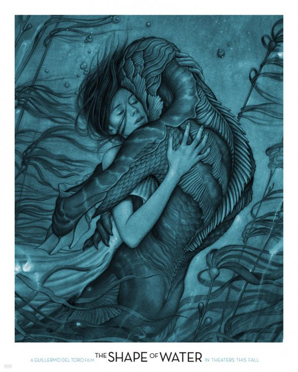 The Shape of Water - Designer: James Jean