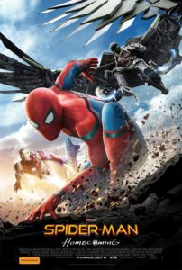 Spider-Man: Homecoming poster (Australia - Sony Pictures)