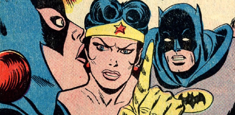 Wonder Woman, Batman, Batgirl