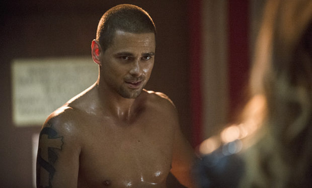 """Arrow -- """"Corto Maltese"""" -- Image AR303b_0407b -- Pictured: J.R. Ramirez as Ted Grant -- Photo: Cate Cameron/The CW -- © 2014 The CW Network, LLC. All Rights Reserved."""